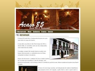 Thumbnail do site Acaso 85 - Scotch Bar & Restaurante