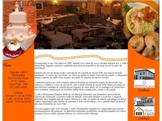 Thumbnail do site Café e Restaurante Deguste