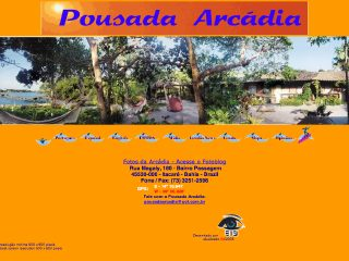Thumbnail do site Pousada Arcadia