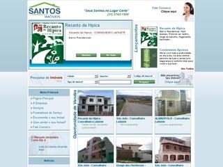 Thumbnail do site Santos Imóveis