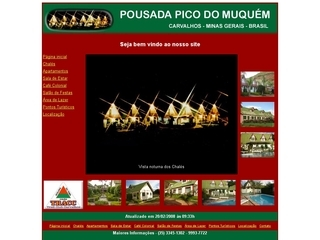 Thumbnail do site Pousada Pico do Muquém