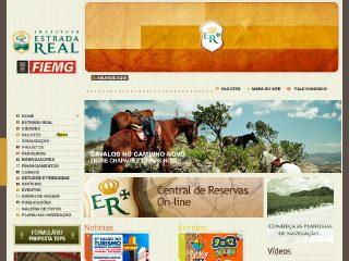 Thumbnail do site Instituto Estrada Real
