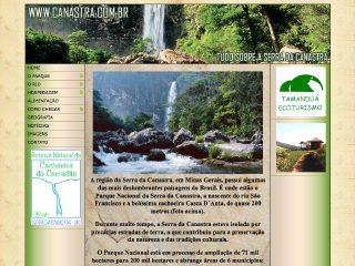 Thumbnail do site Canastra.com.br - Serra da Canastra