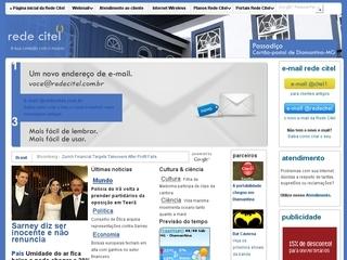 Thumbnail do site Rede Citel ? Provedor de Internet