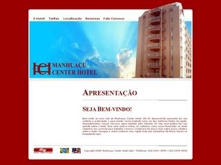Thumbnail do site Manhuaçu Center Hotel