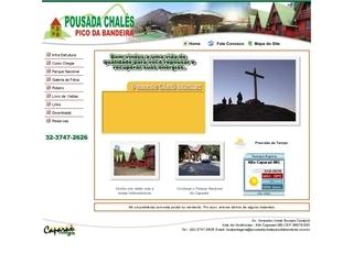 Thumbnail do site Pousada Chalés Pico da Bandeira