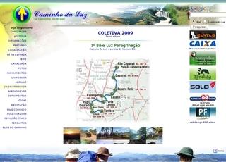 Thumbnail do site Caminho da Luz