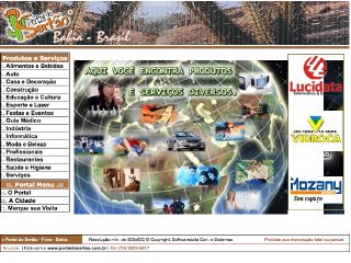 Thumbnail do site Portal do Sertão