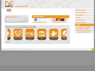 Thumbnail do site AC Poratl Soluções Web