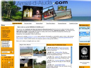 Thumbnail do site ARRAIAL-D-AJUDA.com: Agenda 2015, Fotos, Sites