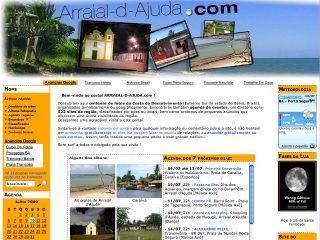 Thumbnail do site ARRAIAL-D-AJUDA.com: Agenda 2015, Fotos, Sites