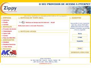 Thumbnail do site Zippy Informática