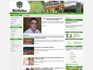 Thumbnail do site Prefeitura Municipal de Barbalha