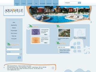 Thumbnail do site Aquaville Resort