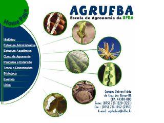 Thumbnail do site Escola de Agronomia