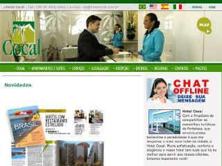 Thumbnail do site Hotel Cocal