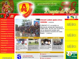 Thumbnail do site Aracati Esporte Clube