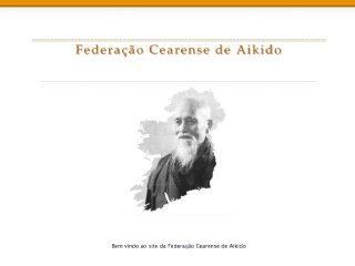 Thumbnail do site Federação Cearense de Aikido