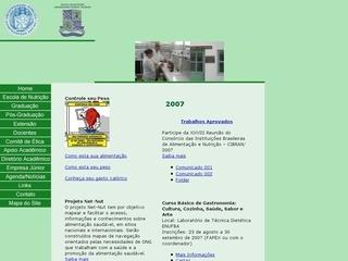 Thumbnail do site Escola de Nutrição