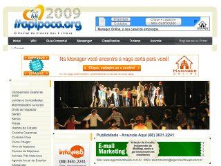 Thumbnail do site Itapipoca.org - O Portal da cidade de Itapipoca!