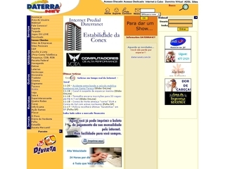 Thumbnail do site Daterranet Bureau de Informática Ltda