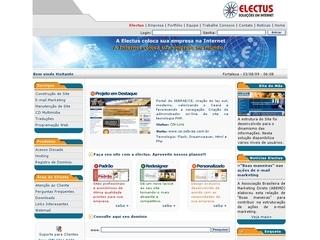 Thumbnail do site Electus Informática 2004