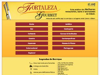 Thumbnail do site Fortaleza Gourmet