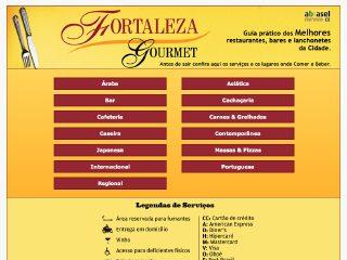 Thumbnail do site Fortaleza Gourmet
