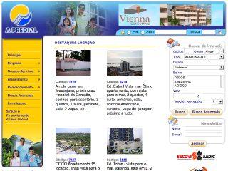 Thumbnail do site A Predial - Administradora Cearense de Bens Imóveis