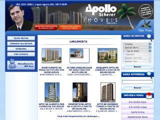 Thumbnail do site Apollo Scherer Imóveis