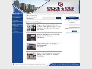 Thumbnail do site Edilson & Edilia Imóveis