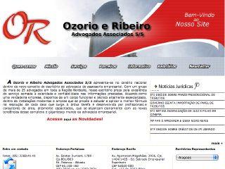 Thumbnail do site Ozorio & Ribeiro - Advogados Associados