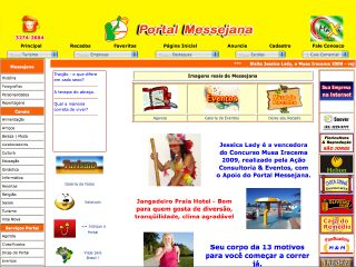 Thumbnail do site Portal Messejana