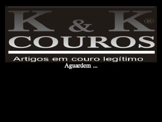 Thumbnail do site K&K Couros