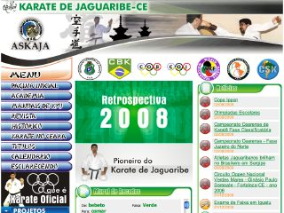 Thumbnail do site ASKAJA - Karate de Jaguaribe