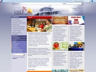 Thumbnail do site Universidade do Estado da Bahia (UNEB)