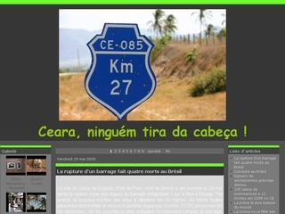 Thumbnail do site Ceará (blog)