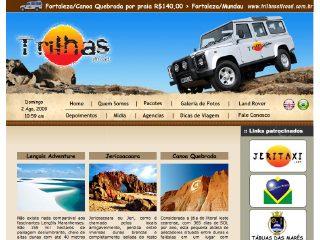 Thumbnail do site trilhasoffroad.ocm.br
