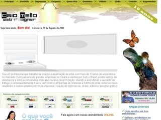 Thumbnail do site Caio Mello Webdesigner