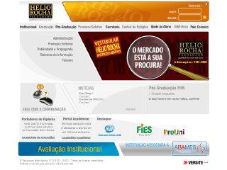 Thumbnail do site Faculdade Hélio Rocha
