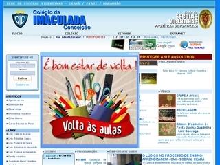 Thumbnail do site Colégio da Imaculada Conceição