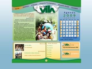 Thumbnail do site Escola Vila
