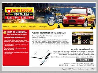 Thumbnail do site Auto Escola Fortaleza