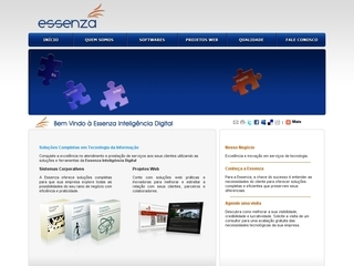 Thumbnail do site Essenza Inteligência Digital