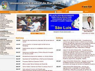 Thumbnail do site UEMA - Universidade Estadual do Maranhão