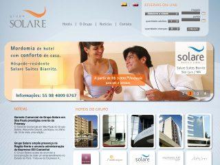 Thumbnail do site Grupo Solare: hoteis em São Luís