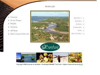 Thumbnail do site Pousada Encantes do Nordeste