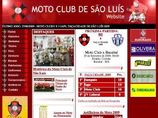 Thumbnail do site Moto Club de São Luís