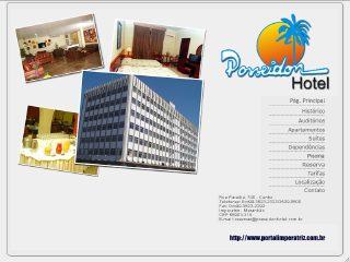 Thumbnail do site Posseidon Hotel
