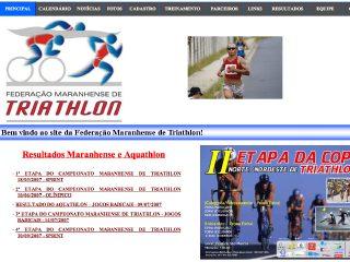 Thumbnail do site FEMATRI - Federação Maranhense de Triathlon